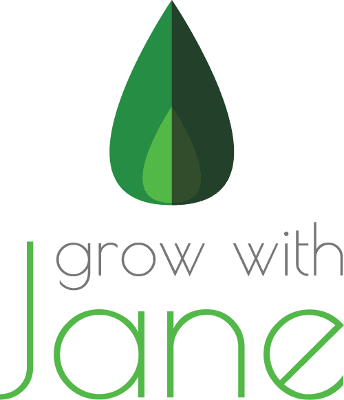 Grow with Jane - Vertical Logo